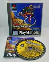 No Fear Downhill Mountain Biking Video Game for Sony PlayStation PS1 PAL TESTED