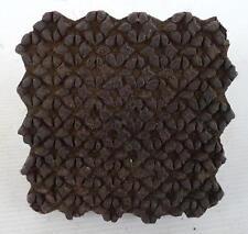 Antik Stempel Holz Batik Stoff Dekor (6)
