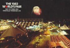 """""""Firework"""" 1982 World's Fair Postcard"""