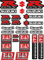 Suzuki GSX-R Yoshimura Motorrad Aufkleber Stickers Abziehbilder GSXR1000 600/36
