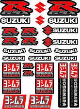 SUZUKI GSX-R Yoshimura Moto Autocollant Stickers décalcomanies gsxr1000 600/36