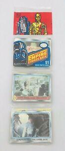1980 Topps Star Wars The Empire Strikes Back Unopened Rack Pack Luke Skywalker