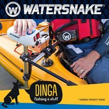 WATERSNAKE ASP T24 24lb 24 Inch 12V Transom Mount Motor With Kayak Bracket