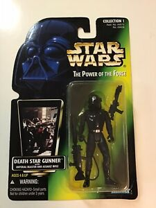 "Hasbro Star wars 4/"" Figure Base Stand Return of the Jedi Death Star Gunner"