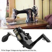 Metal Sewing Machine Hand Crank Handcrank Handle Accessory Vintage Kits