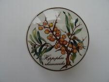 Villeroy & Boch Porcelain Trinket Pot & Lid - Botanica - Hippophae Rhamnoides...