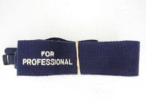 Olympus For Professional Vintage Blue / White Camera Neck Strap