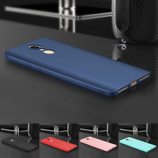 360° Shockproof Slim Soft Rubber Silicone TPU Back Case Cover For XiaoMi RedMi
