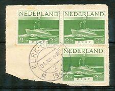 Nederland  429 gebruikt (3 x op papier) met kortebalkstempel KERK-DRIEL 2