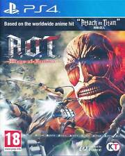 Attack on Titan Wings of Freedom PS4 Game (English Subtitle) Brand New & Sealed