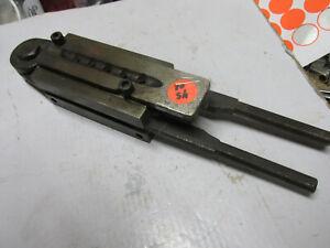 [shel80] Hensley & Gibbs 6 cavity bullet mold, 9, used with handles