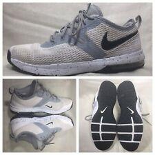 NIKE Air Max Typha 2 Mens Ao3020-100 Men's Size 10 US EUR 44 White Gray Blk Sole