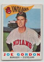 1960  JOE GORDON - Topps Baseball Card # 216 - CLEVELAND INDIANS