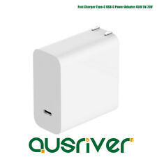 USB-C Power Adapter 45W PD2.0 QC3.0 USB-C Power Adapter Charger For Macbook Pro