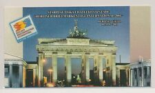 LM57689 Latvia 2001 Berlin stamp expo good booklet MNH