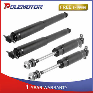 REAR PAIR GAS SHOCK ABSORBERS FOR CHEVOLET GMC C1500 C2500 C3500 911044 MONROE