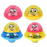 Child Fun Electric Induction Sprinkler Water Spray Toy Light Baby Play Bath Toys