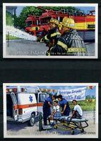 Kaiman-Inseln Cayman 2012 Rettungsdienste Feuerwehr Markenhefte Postfrisch MNH