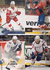 MIKE GREEN 4 Card Lot UD Series 1 07/08 11/12 12/13 16/17