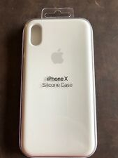 WHITE Apple Silicone Cover Case iPhone X New brand
