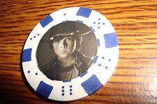 Carl Grimes B&W Photo Walking Dead Poker Chip,Golf Ball Marker,Card Guard  White