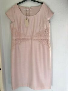 Jaques Vert special occasion pale pink dress size 18