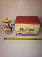 2000 DISNEYANA Convention LE It's A Small World Goofy's Magical Music Box Signed