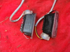 FORD FIESTA MK7  REAR NUMBER PLATE LIGHTS