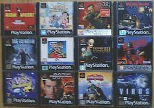 JUEGOS PLAYSTATION 1 PSX PS1 PAL ESPAÑA ELIGE EL TUYO. PAGA SOLO UN ENVÍO