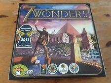Antoine Bauza 7 WONDERS Board Game - Seven Wonders - used, complete