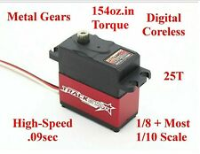 MG DIGITAL SERVO 1/10 Traxxas Jato Slash Rally Rustler Stampede 4wd 2wd VXL 3.3