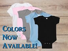 Custom Onesie/Bodysuit Personalized Infant, Baby Gift, COLORS NOW AVAILABLE!