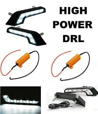 For Mercedes STYLE L SHAPE DAYLIGHT DRL 6 LED UNIVERSAL VW FIT WHITE 6000K