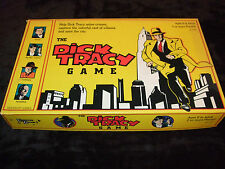 DICK TRACY THE GAME--FAMILY DETECTIVE GAME BY UNIVERSITY GAMES