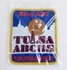 Vintage 1985 Abc National Tournament Bowling Patch 82nd Annual Tulsa Ok Nos