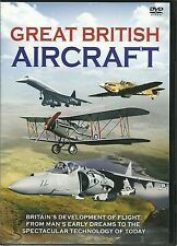 GREAT BRITISH AIRCRAFT DVD - EARLY DREAMS TO THE TECHNOLOGY OF TODAY