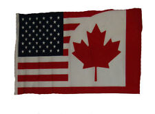 "12x18 12""x18"" U.S.A. USA / Canada Canadian Sleeve Flag Boat Car Garden"