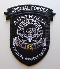 Australian Special Forces Tactical Assault Group (Silent Warrior) Patch
