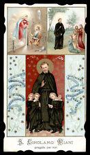 antico santino cromo-holy card S.GIROLAMO EMILIANI