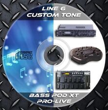 4.544 Patches LINE 6 BASS POD XT-XT LIVE-XT PRO Custom Tone Preset - LIbrary
