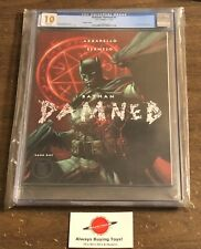 Batman Damned #1 CGC 10.0 Uncensored Bermejo Not 9.9 9.8 DC Black Label Variant