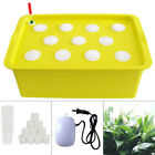 11 Holes Plant Site Hydroponic System Grow Kit Indoor Cabinet Box Home 110V 2.5W picture