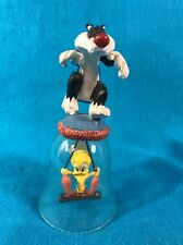 Looney Tunes Sylvester & Tweety Glass Bell