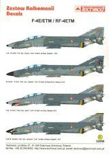 Techmod 1/32 McDonnell F-4E/ETM RF-4E/ETM Phantom II de la fuerza aérea turca # 32050