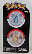 Tomy Pokemon Danglers 2 pack - Charizard & Mega Charizard X