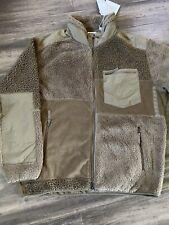 Engineered Garments X Uniqlo Patchwork Beige Fleece Jacket X-LARGE NWT