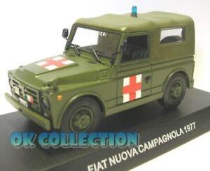 1:43 Carabinieri / Military - FIAT NUOVA CAMPAGNOLA AMBULANZA - 1977 _ (53)
