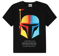 Men's Disney Star Wars Boba Fett Character Cotton T-shirt Sizes M to 2XL
