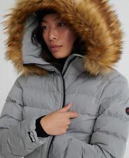 Superdry Womens Arctic Long Puffer Coat