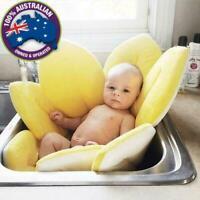 Petal Flower Newborn Baby Toddler Bathtub Mat Pad Safety Seat Soft Cushion